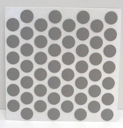 Fastcap Adhesive Cover Caps Pvc Fog Grey 9/16
