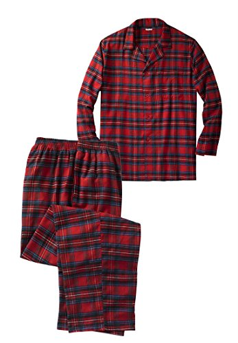 Big Tall Cotton Flannel Pajamas