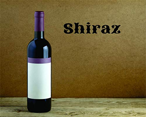 persh Wall Stickers Design Art Words Sayings Removable Lettering Shiraz for Kitchen