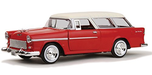 1955 Chevrolet Nomad Red 1/24 by Motormax 73248