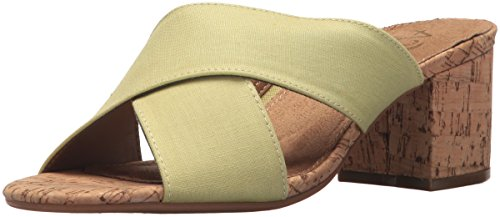 Aerosoles Womens Midday Slide Sandal Light Green Combo 1C3UOJsI