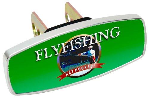 Heininger 4222 HitchMate Premier Series Hitch Cap Salmon Fishing Alaskan Style