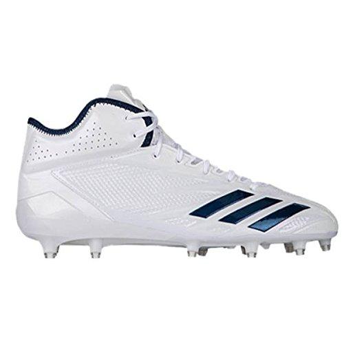 (アディダス) adidas メンズ アメリカンフットボール シューズ靴 adiZero 5-Star 6.0 Mid [並行輸入品] B0785W4WJW 18.0 cm