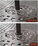 Patio Umbrella Hole Wedge for Patio Table - The