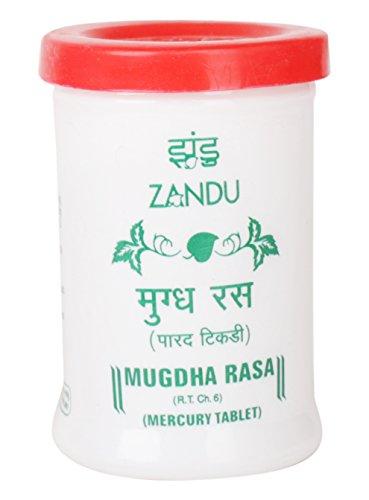 Zandu Mugdha Rasa Mercury Tablet 35 Tablets, 100 G ()