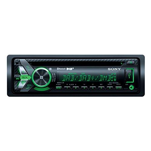 Sony MEX-N6001BD Autoradio (CD-Player, DAB-Tuner, NFC, Bluetooth, USB/AUX, Apple iPod/iPhone Control, 4x 55 Watt) inkl. externe Mikrofon schwarz