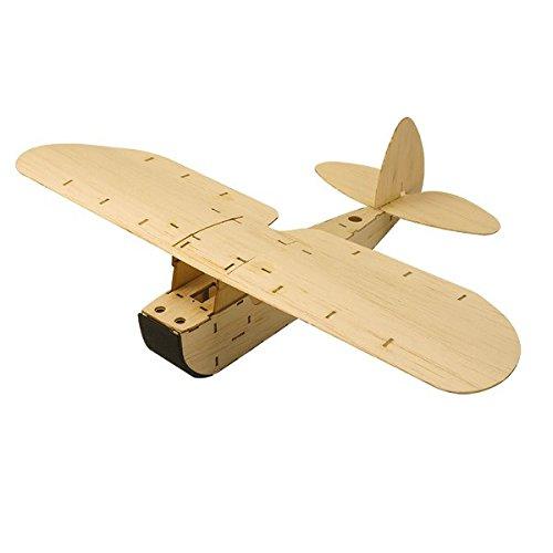 ZYO-6 Balsawood Hand Launch Free Flight Glider RC Airplane KIT
