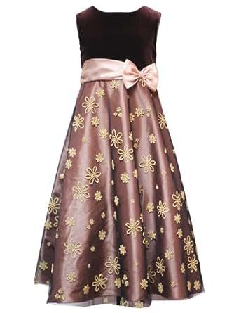 Amazon Com Rare Editions Girls 7 16 Brown Gold Caviar