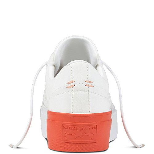 para Ox Barely Grape 551 Lifestyle Mujer Textile de White Star Platform Zapatillas Rush Coral Deporte Rosa One Converse z4qI4