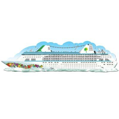 Jointed Cruise Ship Party Accessory (1 count) (1/Pkg)