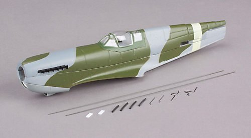 ParkZone Fuselage w/Canopy: Ultra-Micro Spitfire Mk IX