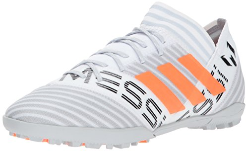(adidas Men's Nemeziz Messi Tango 17.3 TF, White/Solar Orange/Black, 10 Medium US)