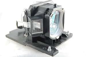 Rangeolamps–Lámpara de proyector con carcasa para Hitachi cp-x2514wn DT01021