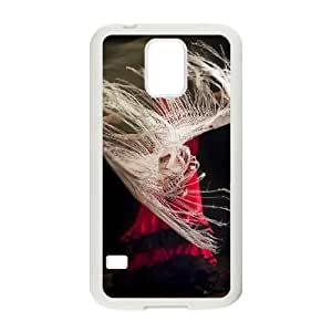 High Quality Specially Designed Skin cover Case flamenco dance 2 Samsung Galaxy S5 Cell Phone Case White