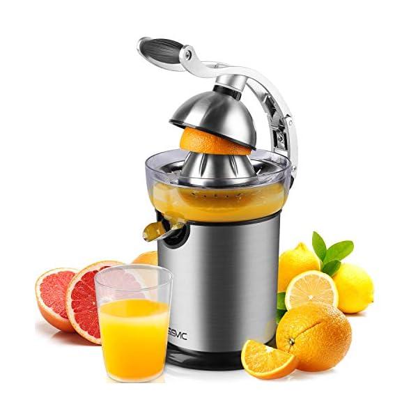 YISSVIC Presse Agrumes Electriques Presse Orange Electrique Automatique Presse Citron Professionnel Puissante à Levier…