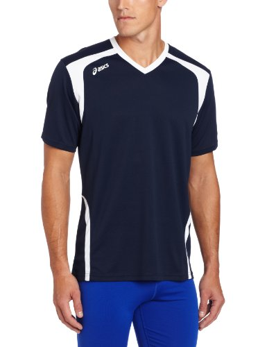 ASICS Men's Ace Jersey, Navy/White, ()