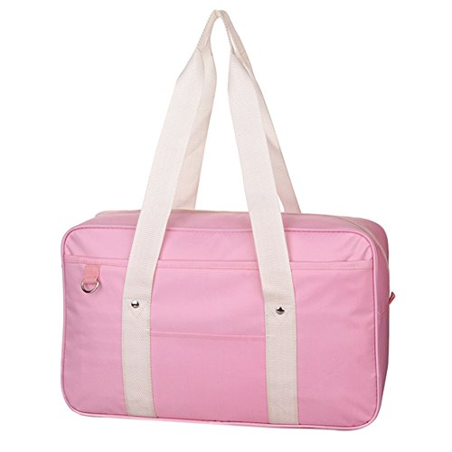 Girls Japanese Cute School Bag Single Shoulder Anime Messenger Bags Backpack Pink