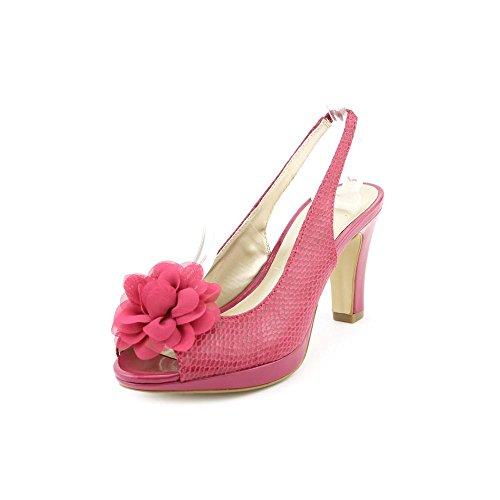 Karen Scott Bethe Women US 6 Pink Open Toe Slingback Heel