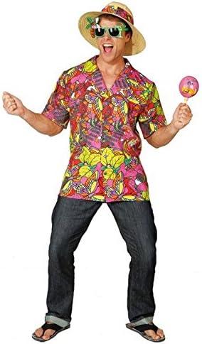 Camisa HAWAIANA MULTIColour Caribe Reggae camiseta Hawaii ...