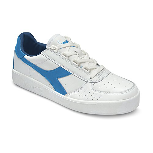 Scarpe Sneakers Uomo / Donna DIADORA Modello B.Elite White Campanula ( White Campanula Estate Blu - 38)