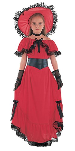 Small Red Girls Scarlet O'hara Costume -