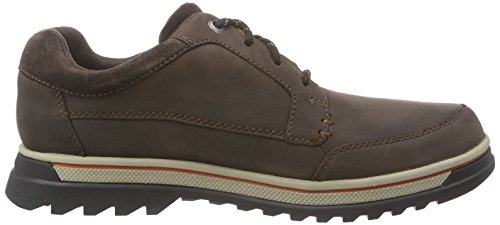 Brogue Uomo Brown Marrone Lea 261102 Clarks Dark 0wpRxq