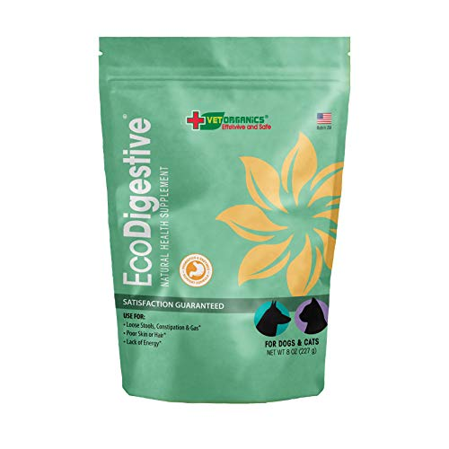 Vet Organics Probiotics Enzymes Digestive Support for Dogs Cats. Add This Gut Health Formula to Your Dog or Cat s Food Daily for Better Digestion, Nutrient Absorption, and Immune Function.