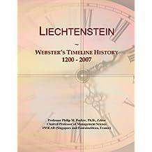 Liechtenstein: Webster's Timeline History, 1200 - 2007
