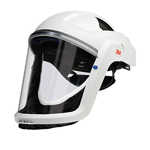 3M M-100 Series Versaflo Respiratory Faceshield Assembly M-107, with Premium Visor and Faceseal by 3M Personal Protective Equipment