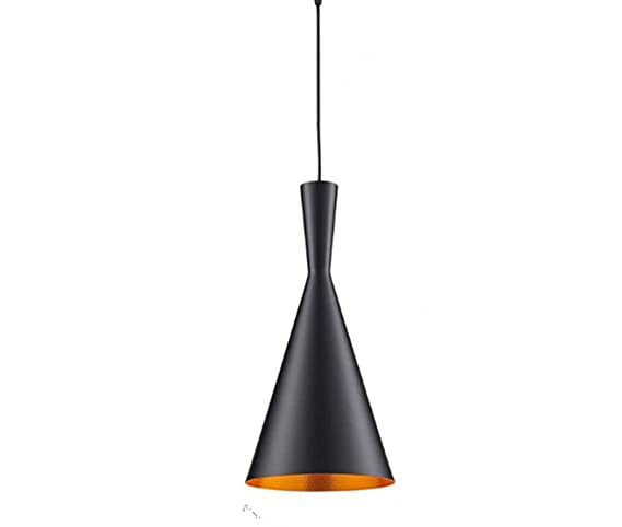 Iluminación industrial metal, lámpara colgante de diseño retro vintage con pantalla, lámpara de techo para loft, café , bar, cocina 1 x E27 máximo 60W ...