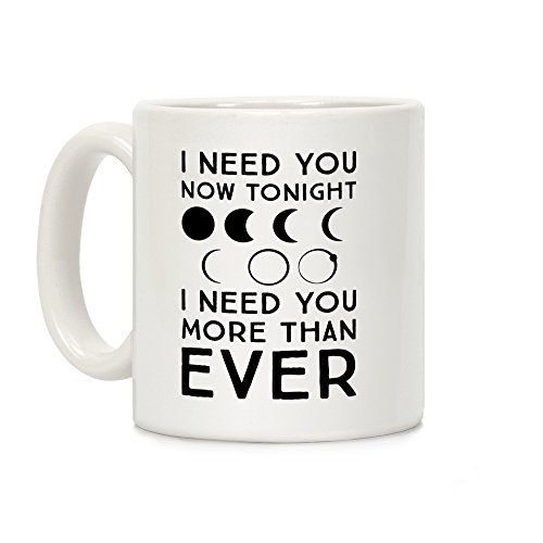Total Eclipse Parody White 11 Ounce Ceramic Coffee Mug By Lookhuman
