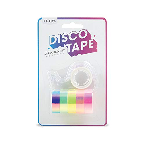 Disco Tape for Packing or Crafting, Set of 1