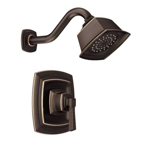 BOARDWALK POSI SHOWER ONLY EP TRIM BRB / Mediterranean bronze Posi-Temp(R) shower only by Moen