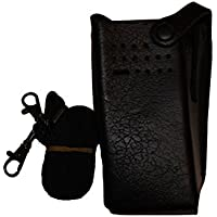 Leather Carry Case with Belt Loop for Most NonDisplay Motorola Radios