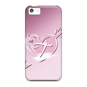 New Fashionable JamesDLaughlin UoEVrbb8751DHMCY Cover Case Specially Made For Iphone 5c(love T)