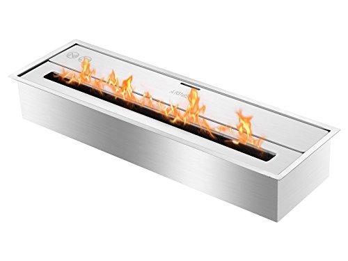 Ignis Eco Hybrid Bio Ethanol Burner Ventless Ethanol Burner Insert EHB2400 (Inserts Gas Fireplace Fired)