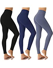 Women's High Waist Leggings-Super Soft Slim Pants -One/Plus Size 20+ Design