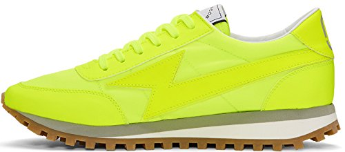 Sneaker Flou-yellow Light Bolt Di Marc Jacobs (10 Us / 9 Uk / 43 Eu)