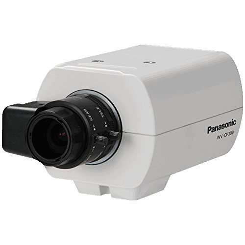 PANASONIC WV-CP300 Panasonic WV-CP300 Exlectrical Day/Night Analog Box Camera (No L Panasonic WV-CP300-G Compact Day/Night Fixed Camera
