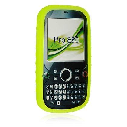 Palm Treo Pro 850 Green Premium Silicone Skin Case Cover (Treo Palm Silicone Pro)