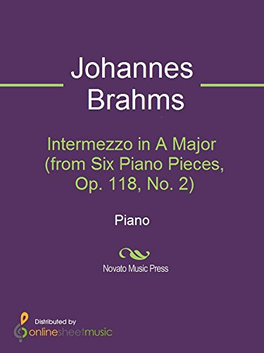 Intermezzo in A Major (from Six Piano Pieces, Op. 118, No. 2) ()