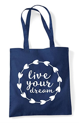 Your Statement Tote Shopper Live Navy Bag Dream FqdHWnwE