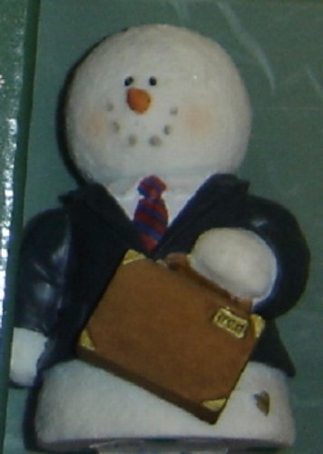 Sarah's Attic Snowonders 9 to 5 Snowman