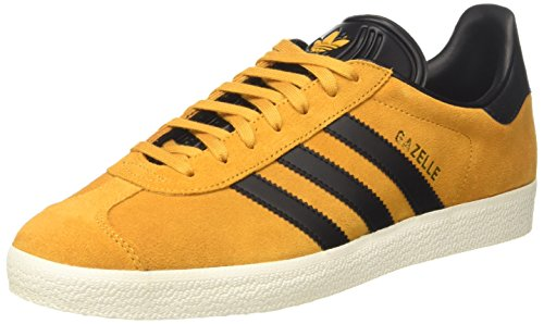 adidas Unisex-Erwachsene Gazelle Sneakers Gelb (Yellow F17/core Black/gold Met)