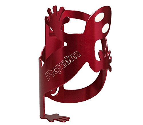 Propalm Gecko Bike Bottle Cage Bicycle Bracket Holder Anode Aluminum with Screws