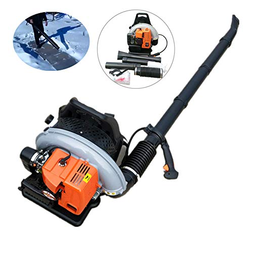 NOPTEG Professional 65CC Commercial Handheld Backpack Garden Yard Petrol Leaf Blower 2-Strokes Outdoor Gasoline Air Leaf Blower