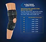 United Ortho Wraparound Hinged Knee