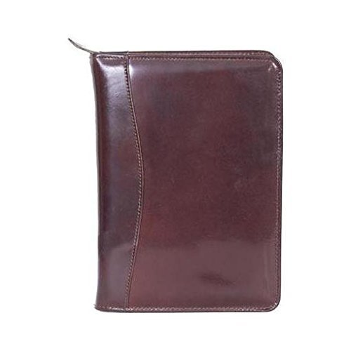 Scully Leather Phone/Address Book with Business Card Holder & Letter Pad Burgundy by Scully (Scully Letter Leather)