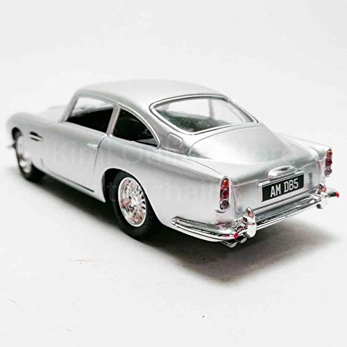 Kinsmart 1 38 Die Cast 1963 Aston Martin Db5 Car Metal Silver Model With Box Collection