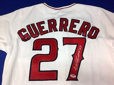 Image Unavailable. Image not available for. Color  Autographed Vladimir  Guerrero Jersey - PSADNA COA  ... 6d6aeb580